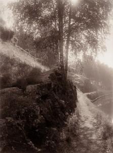 I. K. Inha: Saimaan kanava, 1893. Uusi vedos Gallen-Kallelan Museon käyttökokoelmassa.