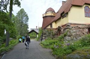 Liekki - Gallen-Kallelan Museon ystävien retki Visavuoreen. Kuva: Gallen-Kallelan Museo