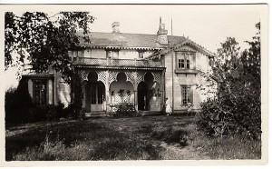 Linuddin huvila 1920-luvulla. Kuva: Gallen-Kallelan Museo