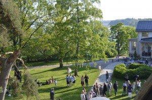 Tarvaspään puisto on ihana keidas. Kuva: Gallen-Kallelan Museo.