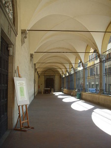 firenzen akatemia loggia